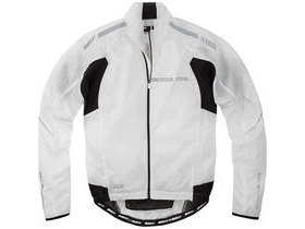 MADISON Sportive Stratos men's showerproof jacket, white