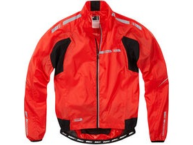 MADISON Sportive Stratos men's showerproof jacket, flame red