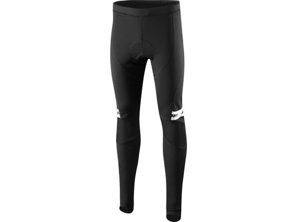 MADISON Sportive Shield Softshell men's tights with pad, black click to zoom image