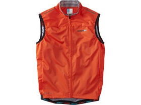 MADISON RoadRace men's windtech gilet, chilli red