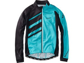 MADISON Sportive Race men's long sleeve thermal roubaix jersey, blue curaco