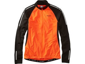 MADISON Stellar men's long sleeved thermal jersey, shocking orange