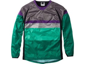 MADISON Alpine men's long sleeve jersey, phantom / green