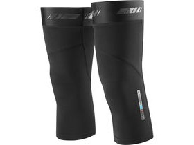 MADISON RoadRace Optimus Softshell knee warmers, black
