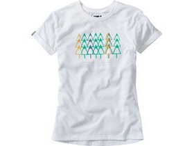 MADISON Tech Tee women's, forest trail white