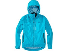 MADISON DTE men's 3-Layer waterproof storm jacket, caribbean blue
