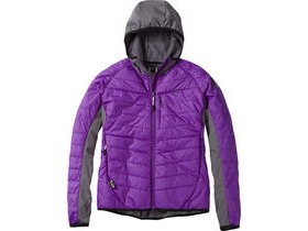 MADISON DTE women's hybrid jacket, imperial purple size 16