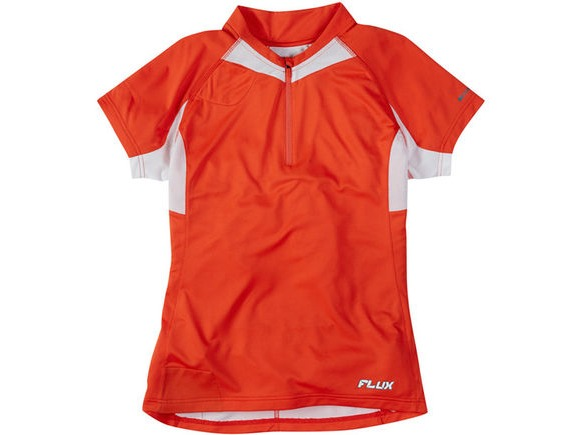 MADISON Flux women's short sleeved jersey, chilli red click to zoom image