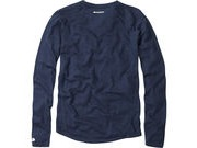 MADISON Isoler Merino men's long sleeve baselayer, atlantic blue click to zoom image