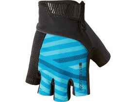 MADISON Sportive men's mitts geo carribean blue/black