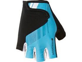 MADISON Peloton men's mitts cyan blue