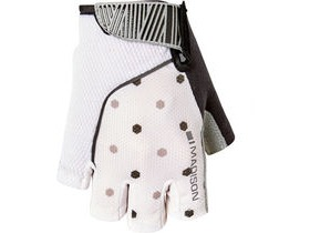 MADISON Sportive women's mitts hex dots white