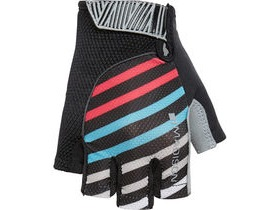 MADISON Sportive women's mitts stripes black/blue/pink