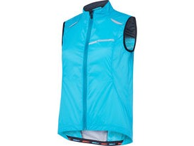 MADISON Sportive women's windproof gilet blue curaco