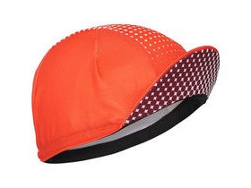 MADISON RoadRace Premio cap dot fade classy burgundy/chilli red one size