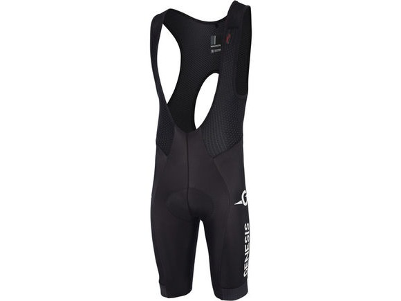 MADISON RoadRace Premio Thermal DWR men's bib shorts, Madison Genesis Team click to zoom image