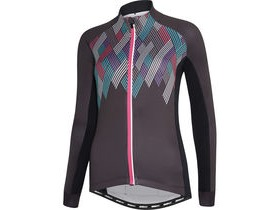 MADISON Sportive women's long sleeve thermal jersey, crosshatch dark shadow